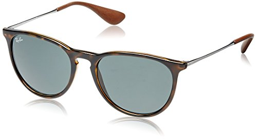 ray-ban-erika-gafas-de-sol-unisex-rama-color-marron-y-lente-color-verde-oscuro-talla-54-mm