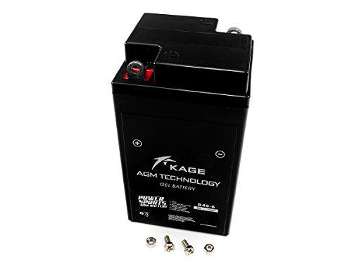 GEL-Batterie-KAGE 6Volt B49-6 für B M W Vespa