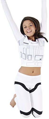 Star Wars Stormtrooper Top and Pants Costume Set (Women's ()