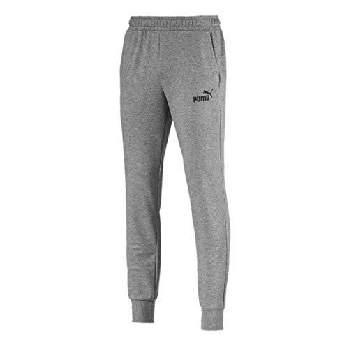 Puma Herren ESS Logo Pants TR cl Hose Medium Gray Heather XL