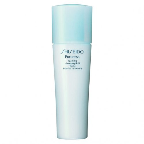 Shiseido Pureness Foaming Cleansing Fluid Foam Cleanser for Unisex, 5 Ounce by Shiseido (Shiseido Gesicht Cleanser)