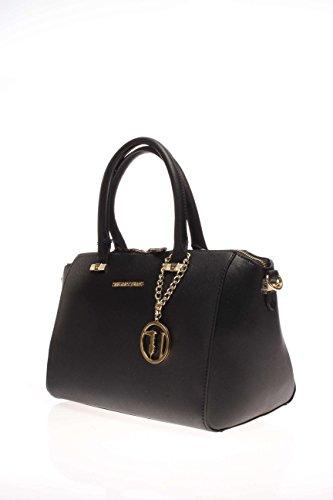 Trussardi Jeans Femme Sac 75B493 19 Sac saffiano Noir - noir