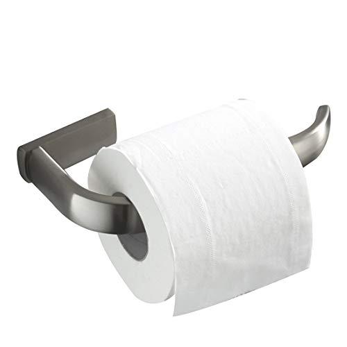 Bathfirst Toilettenpapierrollenhalter Hängender Handtuchhalter Messing gebürsteter Nickel Wand Bad-accessoires -
