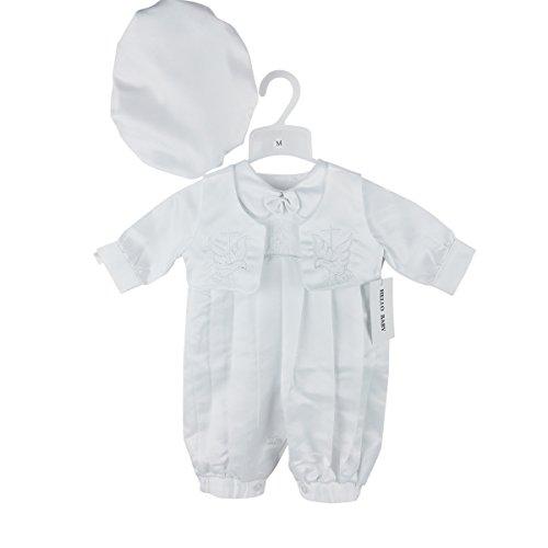 HELLO BABY Baby Jungen (0-24 Monate) Taufbekleidung weiß weiß S (0-6months)