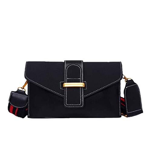 Handtasche Neue breite Schultergurt Peeling einzelne Schulter Messenger Bag koreanische Persönlichkeit Mode wildes Temperament Handtasche weiblich -