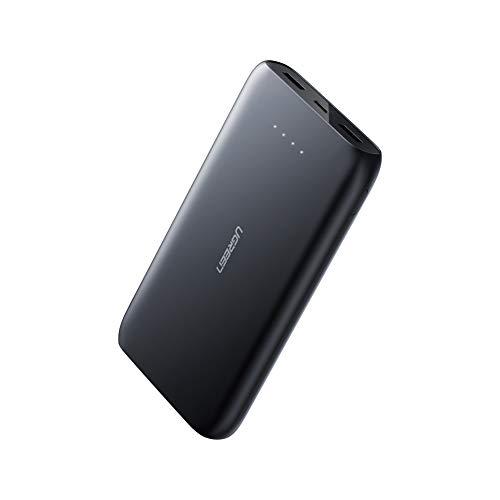 UGREEN Powerbank USB C 20000mAh Externer akku mit Power Delivery 18W Quick Charge Mobile Ladegerät kompatibel mit iPhone 11, 11 pro, XS, XR, X, XS Max, Samsung A50, S10, S9, iPad Pro 2018 usw.