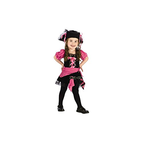 Fun World Damen Kleinkinder Pink Punk Pirat ()