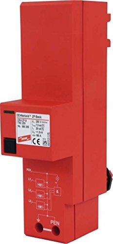 Dehn+Söhne Kombi-Ableiter DEHNshield DSH ZP B TNC 255 ZP basic, Typ 1+2 Kombi-Ableiter für Energietechnik 4013364306790