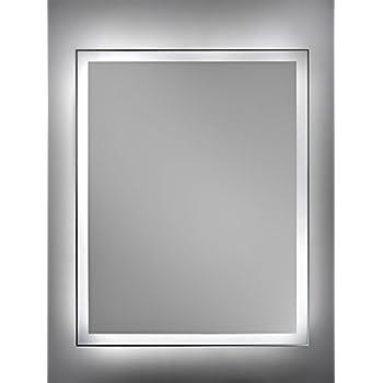 Cube Spiegel Mit Led Beleuchtung Badspiegel 80 Cm X 60 Cm Zimmer