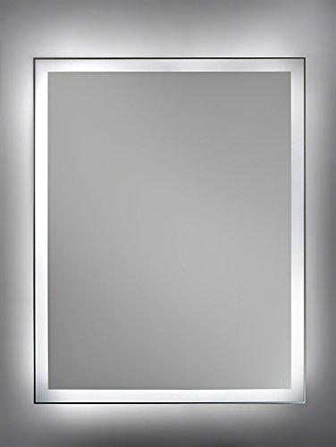 Top Cube Spiegel mit LED Beleuchtung Badspiegel - 70 cm x 50 cm  KL42
