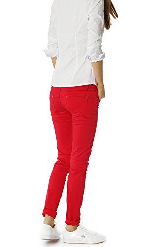 Bestyledberlin Damen Jeans Hosen, Röhrenhosen j13ab Türkis