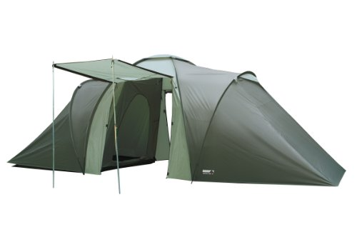 High Peak Como 6, Tenda Unisex – Adulto, Scuro/Oliva Chiaro, 560 x 230 x 200/155 cm