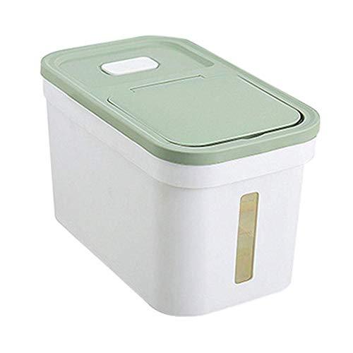 QUUY Großer Vorratsbehälter Für Lebensmittel Plastikküchen-Trockenfutter-Spender-Behälter Mit Deckeln Für Reismüsli Und Mehr