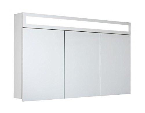 Badschrank mit Spiegel - 120 cm
