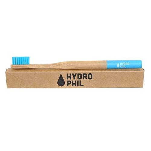 Hydrophil nachhaltige Zahnbürste BLAU medium