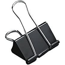 5 Star™ Foldback-Klammern 41mm schwarz Inh.12