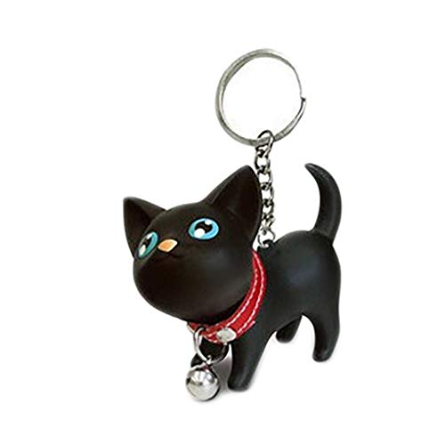 Gatito Gato Llavero Animal Historieta Bell Pequeño