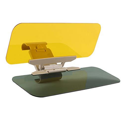 Auto Sonnenblende Verlängerung Tag und Nacht Sonnenbrille Blendschutz Spiegel Clips Auto Sonnenblende Polarisiert Licht geschützt