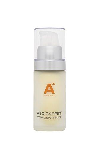A4 - RED CARPET CONCENTRATE Gesichtspflege | Gesichtscreme mit Anti-Aging, hochdosiert, verfeinert Poren, reduziert Falten (30ml)