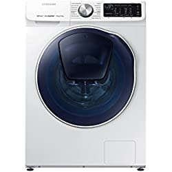 Samsung WD90N642OOW/ETLavatrice QuickDrive 9 kg, 1400 rpm, Bianco [Classe di Efficienza Energetica A]