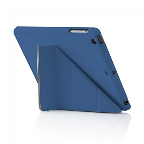 Preisvergleich Produktbild Pipetto iPad Air 2 Hülle Navyblau Blau Faltbare Origami Halterung Stand für Apple iPad Air 2 (6. Generation)