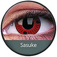 Kontaktlinsen Festive ohne Stärke Phantasee Modell Fancy Lens 14mm Sasuke