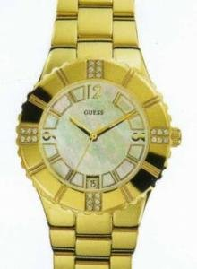 GUESS Analog Mother of Pearl Dial Women's Watch - I11065L1 image