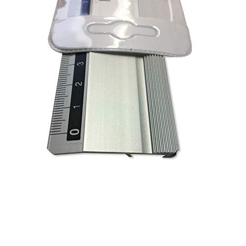 Metallo sicurezza Craft cutter righello in alluminio passepartout regola 50cm 500mm 50cm con copertura impermeabile