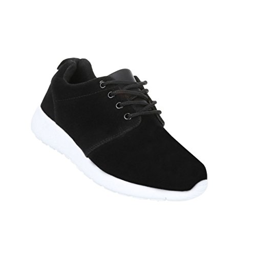 Damen Schuhe Freizeitschuhe Sneakers Turnschuhe Modell Nr4 Schwarz