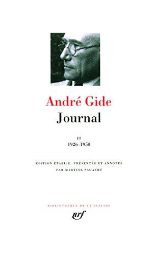 Gide : Journal, tome 2 : 1926 - 1950