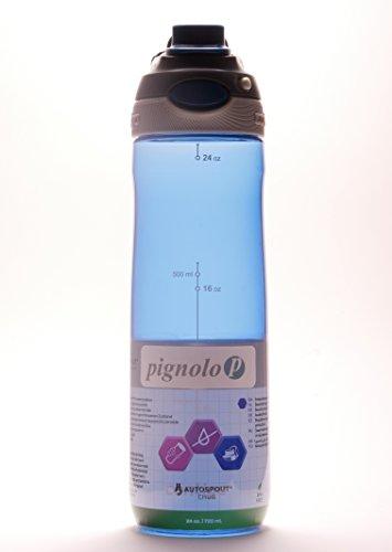Chug Durstlöscher mit großer Öffnung 720ml blau