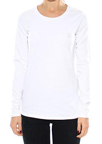 T-shirt manica lunga donna LIU JO SPORT, art. T66011/J783611110, mod. ML Basic , colore bianco, collezione AI16