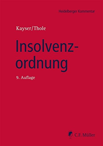 Insolvenzordnung (Heidelberger Kommentar)