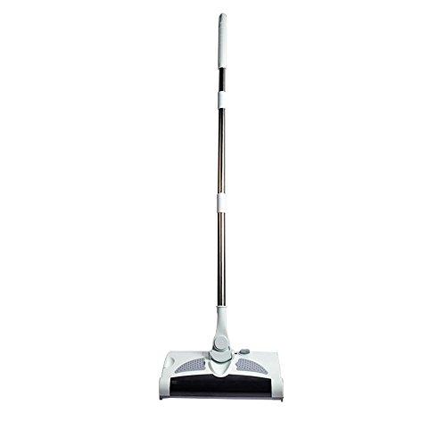 Zwei-in-One elektrische Hand-Push Staubsauger Kehrmaschine mit Mop-Funktion Arbeitszeit bis zu 50 Minuten Grifflänge einstellbar geeignet für verschiedene Materialien des Bodens.