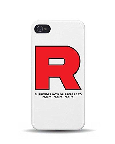 iPhone 5/5S Team Rocket Pokemon T-shirt Pokémon Gaming 3D Coque téléphone portable