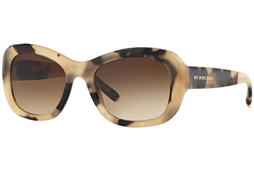 BURBERRY Damen BE4189 Sonnenbrille, Braun (Light Horn 350113), One size (Herstellergröße: 54)
