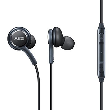 Samsung S8/S8 Plus/S9/S9 Plus Compatible in-Ear Earphones with 3.5 mm Jack and Remote Mic (Grey).