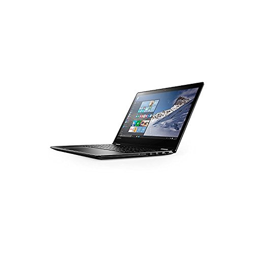 Lenovo Yoga 510-14IKB - Portátil convertible de 14' HD (Intel Core i7 7500U, RAM de 8 GB, SSD de 256 GB, Intel HD Graphics 620, Windows 10 Home) negro - teclado QWERTY Español