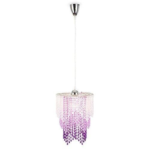 Design Pendel Leuchte Kristalle Decken Kinderlampe