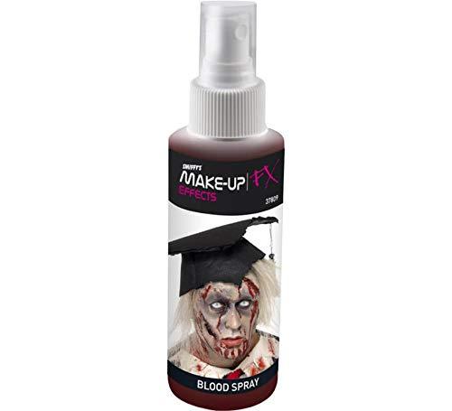 Smiffy'S 37809 Spray Sangre Con Atomizador De Bombeo, Rojo