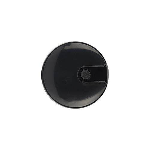 DJLOOKK Rastreadores de Actividad de ubicación GPS de Perros, Dispositivo inalámbrico de rastreo de Mascotas Gatito Gato Gato rastreador,Black