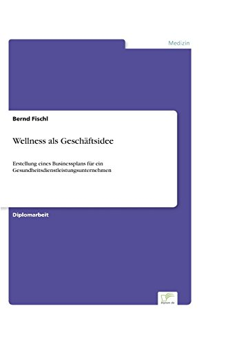 Wellness als Geschäftsidee: Erstellung eines Businessplans für ein Gesundheitsdienstleistungsunternehmen