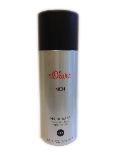 S.Oliver Men homme/men, Deodorant, Vaporisateur/Spray, 1er Pack (1 x 150 g)