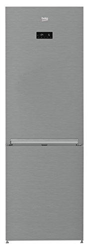 Beko RCNE365E45X Kühl-Gefrier-Kombination / A+++ / 184,50 cm Höhe / Kühlteil / 96 L Gefrierteil / NeoFrost /  Active Dual Cooling System /  ProSmart Inverter Kompressor / Automatische Abtauung / LED-Innenbeleuchtung /  Umluftkühlung / Getrennte Temperaturzonen
