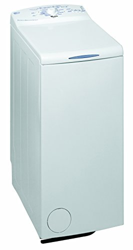 Whirlpool AWE6010 Freestanding Top-load 6kg 1000RPM A++ White washing machine - Washing Machines (Freestanding, Top-load, White, Buttons, Rotary, Up, White)