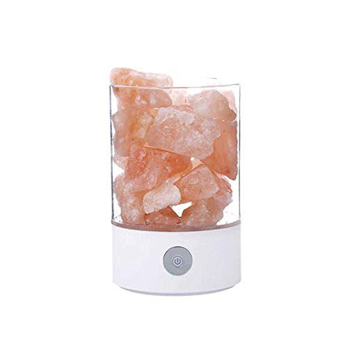 Himilian Hymalain Salt Sea Rock LampHimalayan Night Crystal Natural Light Ficony LampsUsb Pink ChdxtsrQ