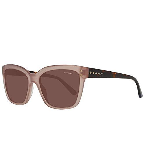 GANT Damen Ga8056 45F 56 Sonnenbrille, Beige,