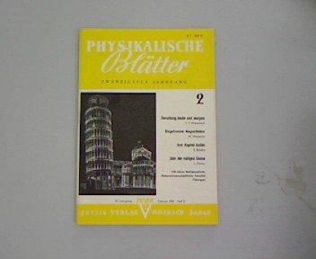 Eingefrorene Magnetfelder, in: Physikalische Blätter 2/1964