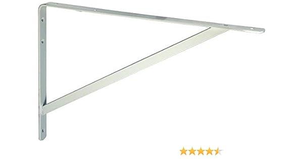 Regaltr/ägerr 100 x 150 mm weiss Schwerlasttr/äger Regalwinkel Regalhalter Regal Winkel Bodentr/äger Verzinkt und Wei/ß IB-Style hohe Tragkraft 7 Abmessungen