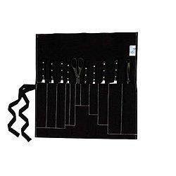 Farringdon 11Taschenmesser Rolle/Geldbörse schwarz Messer Storage Roll
